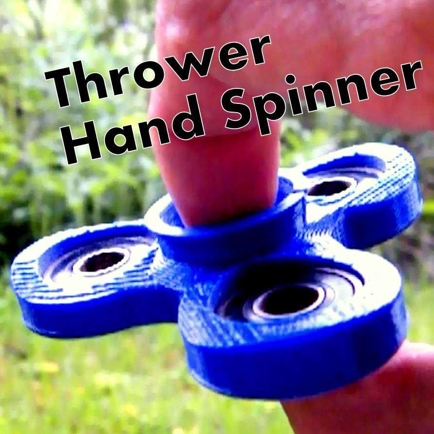 Title_lanceur_spinner_carre.JPG Download STL file Thrower Hand Spinner • 3D print design, 3d-fabric-jean-pierre