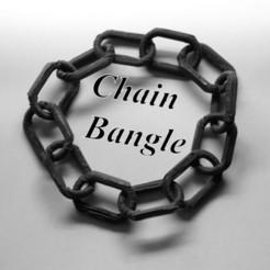 Plan imprimante 3D Chain bangle, 3d-fabric-jean-pierre