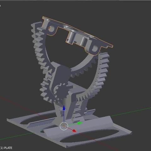 montage9.JPG Download STL file Armillary phone holder • 3D printer model, 3d-fabric-jean-pierre