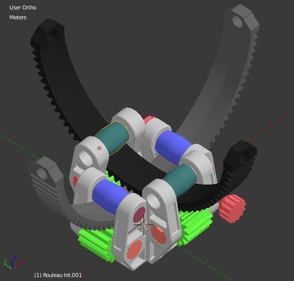 Rouleau_Interieur.JPG Download STL file Armillary phone Holder • Design to 3D print, 3d-fabric-jean-pierre