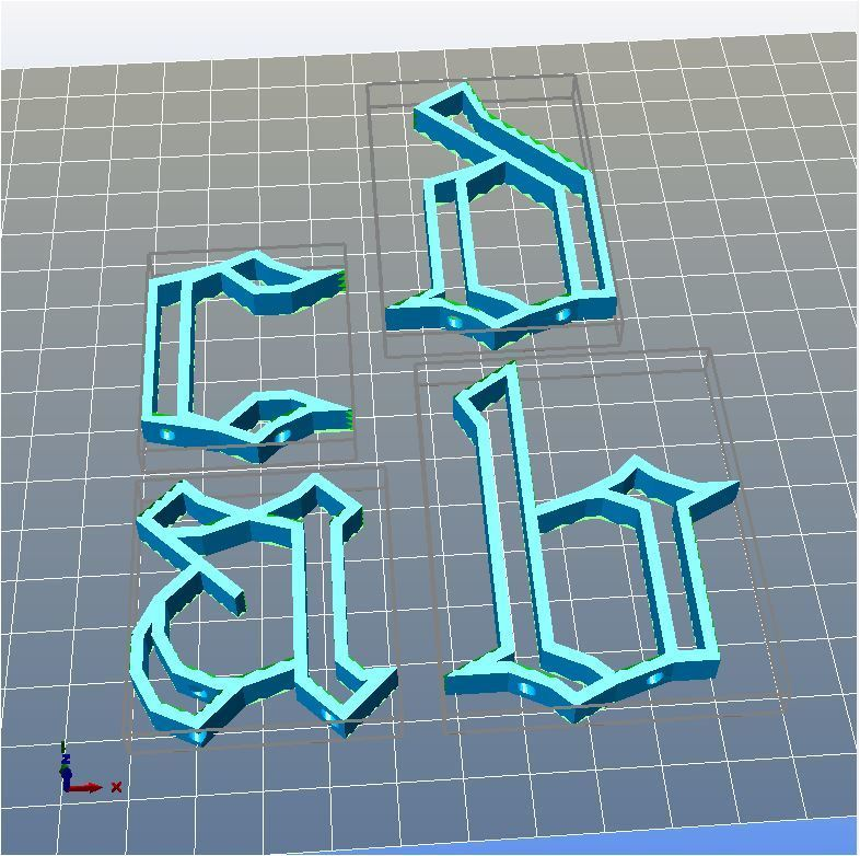 3d-fabric-jean-pierre-Gothic-alphabet-abcd.jpg Download STL file Gothic alphabet • 3D printer template, 3d-fabric-jean-pierre