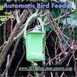 Download 3D printer templates Automatic Bird Feeder, 3d-fabric-jean-pierre