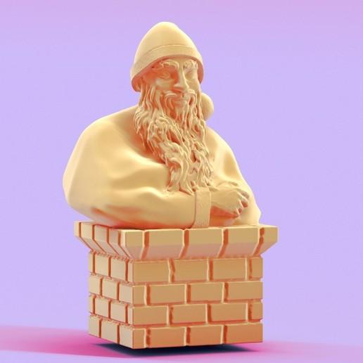 Télécharger fichier impression 3D Santa claus, 3d-fabric-jean-pierre
