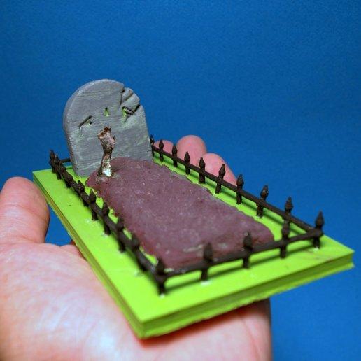 Download 3D printer designs Halloween tomb, 3d-fabric-jean-pierre