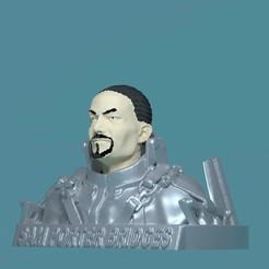 render_porter_bust_2_ret.jpg Download OBJ file Bust of Sam Porter Bridges • Model to 3D print, 3d-fabric-jean-pierre