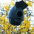 Download STL file Lowpoly bird house • 3D printing design, 3d-fabric-jean-pierre