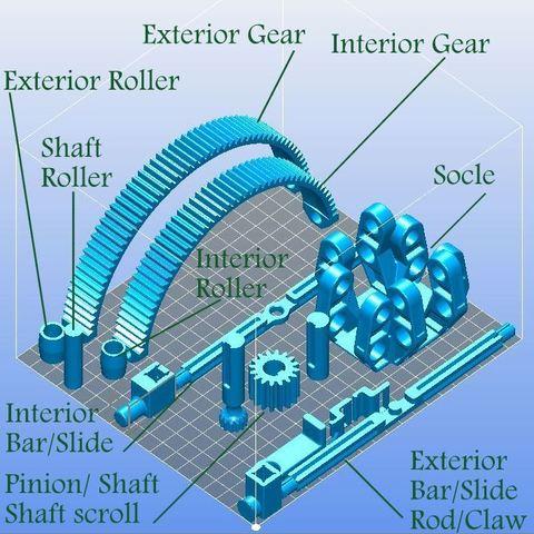 Armillary_phone_slicer_nomenclature.JPG Download STL file Armillary phone Holder • Design to 3D print, 3d-fabric-jean-pierre