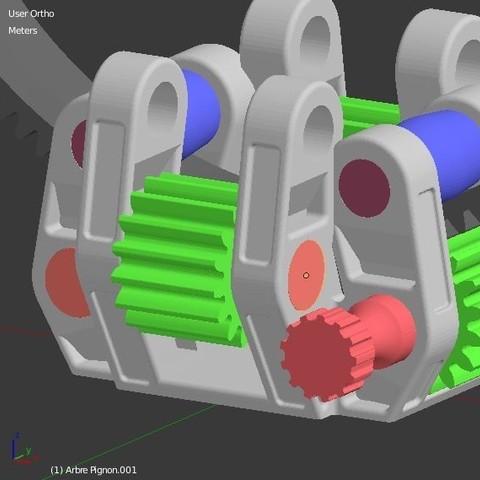 Arbre_pignon_4.JPG Download STL file Armillary phone Holder • Design to 3D print, 3d-fabric-jean-pierre
