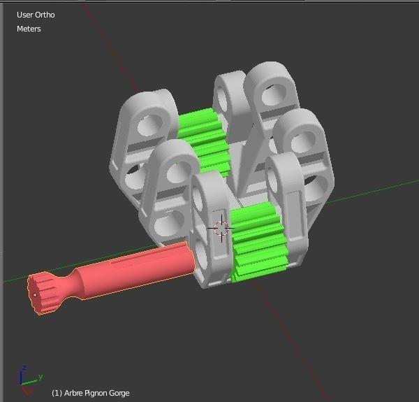Arbre_molette_1.JPG Download STL file Armillary phone Holder • Design to 3D print, 3d-fabric-jean-pierre