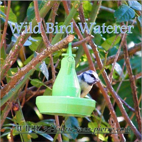 3D printing model Wild Bird Waterer, 3d-fabric-jean-pierre