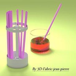 scene_Porte_paille_1_title.jpg Télécharger fichier STL straw holder • Objet à imprimer en 3D, 3d-fabric-jean-pierre