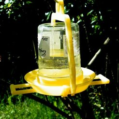 3D printing model bird waterer, 3d-fabric-jean-pierre