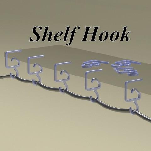 Impresiones 3D gancho estantería, 3d-fabric-jean-pierre