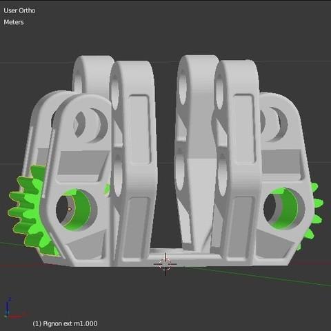 Pignon_2.JPG Download STL file Armillary phone Holder • Design to 3D print, 3d-fabric-jean-pierre