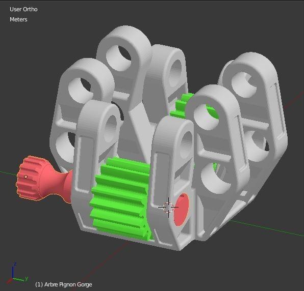Arbre_molette_2.JPG Download STL file Armillary phone Holder • Design to 3D print, 3d-fabric-jean-pierre