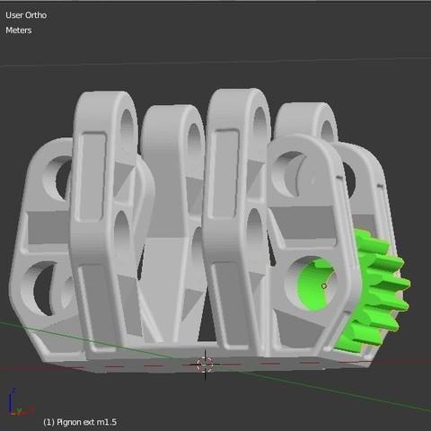 Pignon_1.JPG Download STL file Armillary phone Holder • Design to 3D print, 3d-fabric-jean-pierre