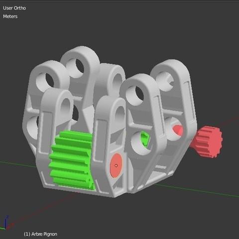 Arbre_pignon_2.JPG Download STL file Armillary phone Holder • Design to 3D print, 3d-fabric-jean-pierre