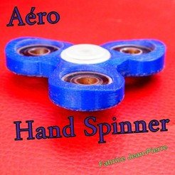 vue_aero_title_carré.JPG Download STL file Aero Hand Spinner • Design to 3D print, 3d-fabric-jean-pierre