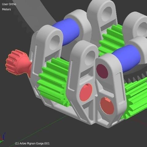 Arbre_molette_4.JPG Download STL file Armillary phone Holder • Design to 3D print, 3d-fabric-jean-pierre