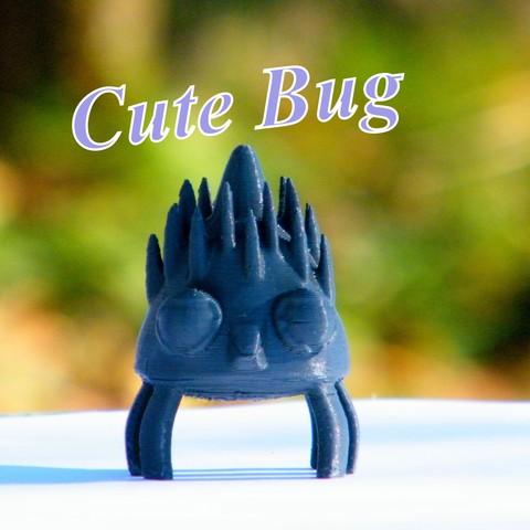 Download STL file Cute bug • 3D printer template, 3d-fabric-jean-pierre