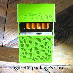 Fichier STL Cigarette package's case, 3d-fabric-jean-pierre