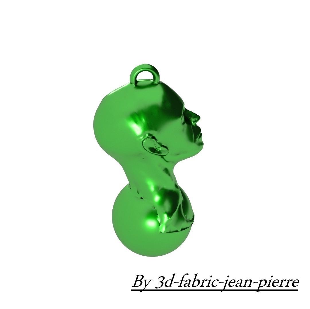 3d-fabric-jean-pierre_head_on_marble_render_3_carr.jpg Download OBJ file Head on Marble • 3D print template, 3d-fabric-jean-pierre