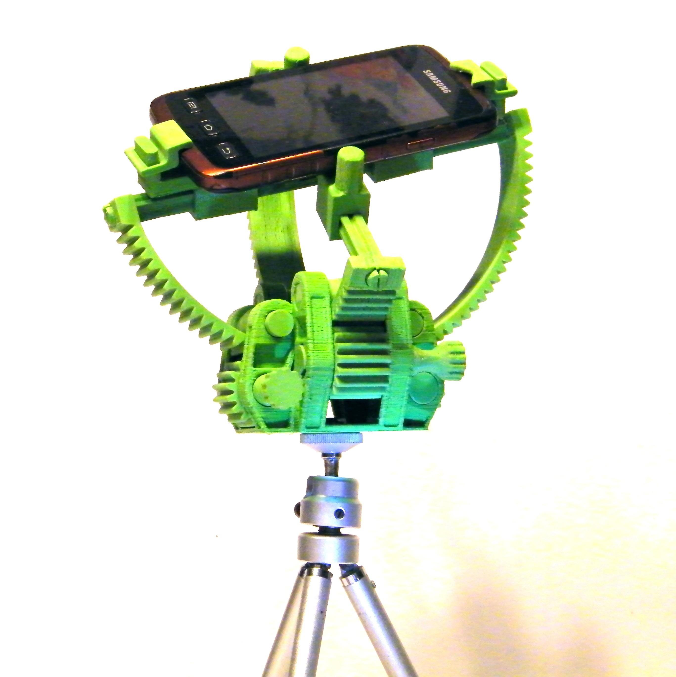 Armillary_phone_tripod.jpg Download STL file Armillary phone Holder • Design to 3D print, 3d-fabric-jean-pierre