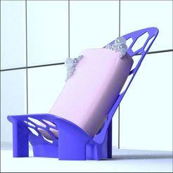 Descargar modelos 3D jabonera verticales, 3d-fabric-jean-pierre