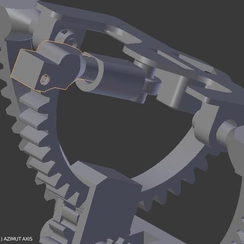 montage13.JPG Download STL file Armillary phone holder • 3D printer model, 3d-fabric-jean-pierre