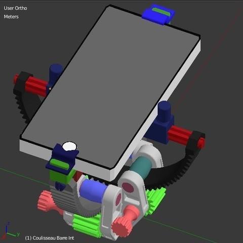 Final_armil_phone.JPG Download STL file Armillary phone Holder • Design to 3D print, 3d-fabric-jean-pierre