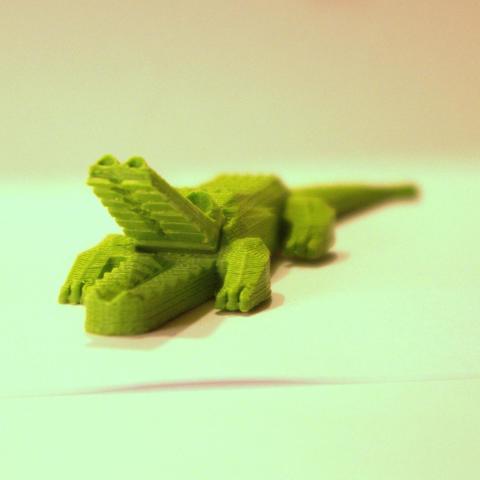 3d-fjp-pretty-crocodile-scale-view1-lt.jpg Download STL file Pretty Crocodile • 3D printer object, 3d-fabric-jean-pierre