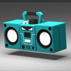 Diseños 3D Boombox Fortnite, 3d-fabric-jean-pierre