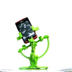 Plan 3D Armillary phone holder, 3d-fabric-jean-pierre