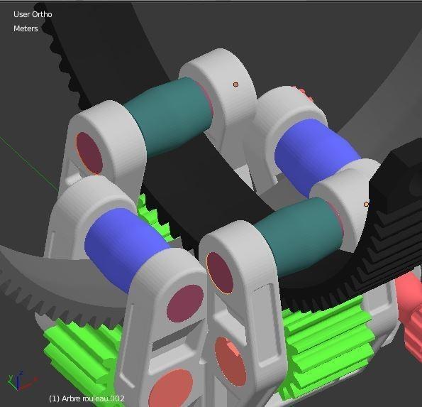 Arbre_Rouleau_Interieur_1.JPG Download STL file Armillary phone Holder • Design to 3D print, 3d-fabric-jean-pierre