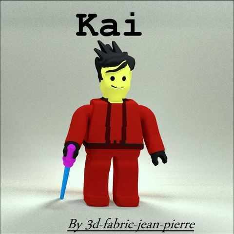 Télécharger modèle 3D Ninjago Kai, 3d-fabric-jean-pierre