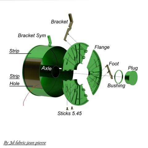 3d-fabric-jean-pierre_render_Filament_Case_nomenclature_1.jpg Download STL file Steampunk filament case • 3D printer object, 3d-fabric-jean-pierre
