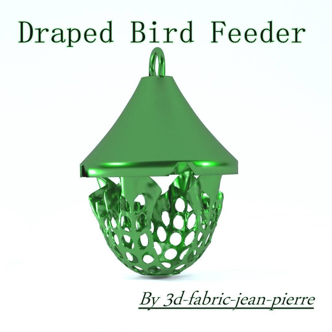 3d-fabric-jean-pierre-draped-bird-feeder-title-Lt.jpg Download STL file Draped bird feeder • 3D printing template, 3d-fabric-jean-pierre