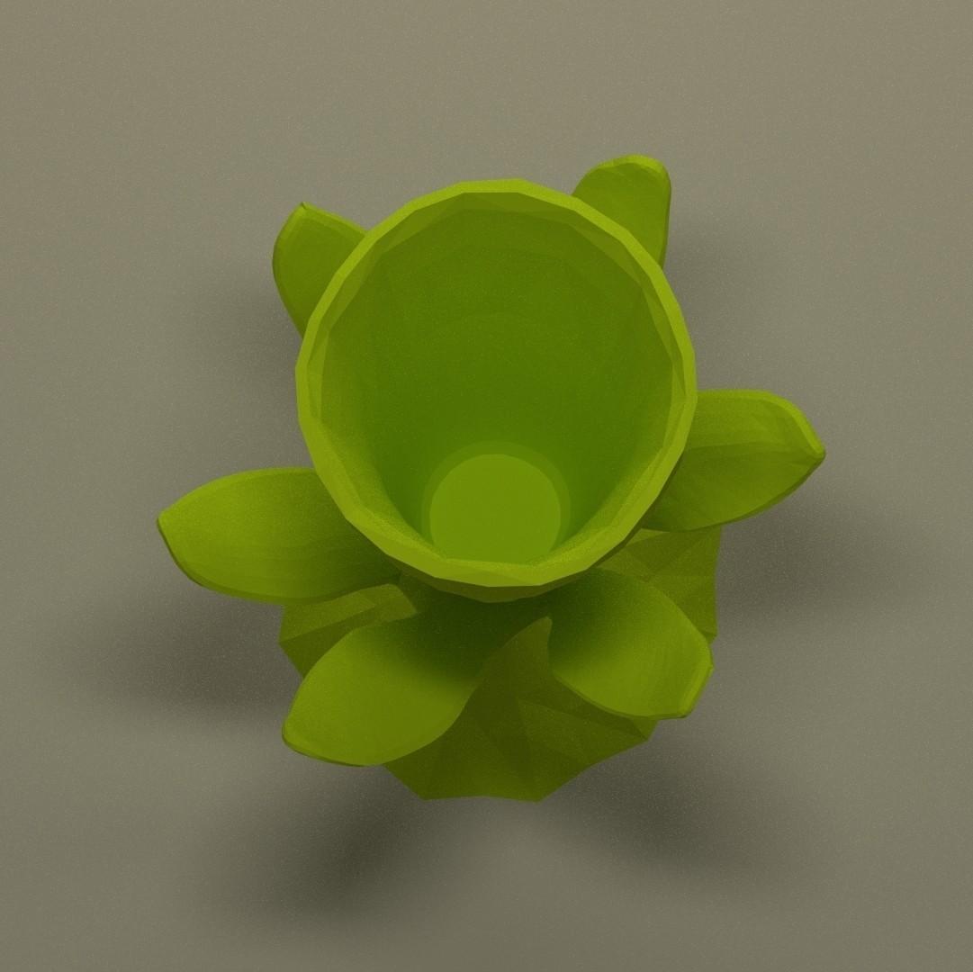 Mini_jonquille_drink_carre.jpg Download STL file Jonquil vase • 3D printer model, 3d-fabric-jean-pierre