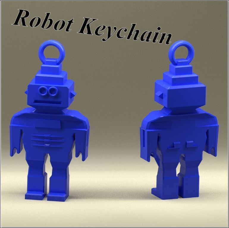 3d-fabric-jean-pierre_Robot_keychain_render_lt.jpg Download STL file Keychain robot • Template to 3D print, 3d-fabric-jean-pierre
