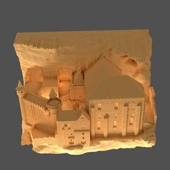 3D printer files Sanctuary of Rocamadour, 3d-fabric-jean-pierre