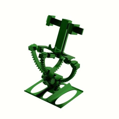 armillaire_mount_carr.jpg Download STL file Armillary phone holder • 3D printer model, 3d-fabric-jean-pierre