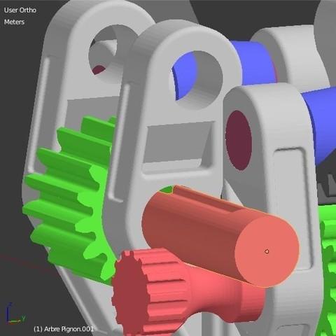 Arbre_pignon_3.JPG Download STL file Armillary phone Holder • Design to 3D print, 3d-fabric-jean-pierre
