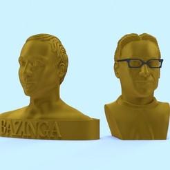 scene_leo_shel_car.JPG Télécharger fichier STL SHELDON COOPER et LEONARD HOFSTADTER • Design à imprimer en 3D, 3d-fabric-jean-pierre
