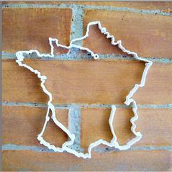 carte_france_make_lt.jpg Download STL file French map • 3D printable design, 3d-fabric-jean-pierre