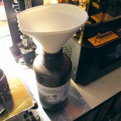 entonnoir_net1.jpg Download STL file Resin funnel • 3D printable template, 3d-fabric-jean-pierre