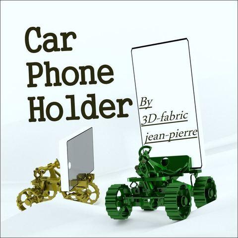 3d-fabric-jean-pierre_carphoneholder_render_Title_Lt_car.jpg Download STL file Car Phone Holder • Template to 3D print, 3d-fabric-jean-pierre