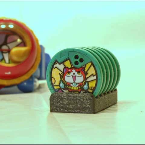 3D printing model Yo-Kai medal holder, 3d-fabric-jean-pierre