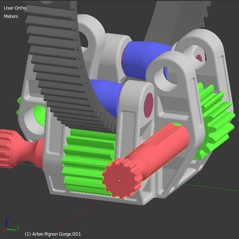 Arbre_molette_3.JPG Download STL file Armillary phone Holder • Design to 3D print, 3d-fabric-jean-pierre