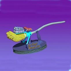 Capture_broom_color_cut_net.JPG Download OBJ file Arthur Weasley's broom • 3D printer model, 3d-fabric-jean-pierre