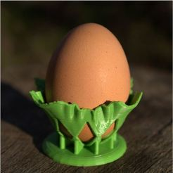 3D printing model draped egg cup, 3d-fabric-jean-pierre